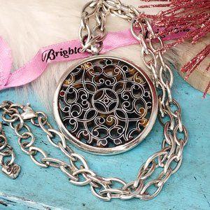 Brighton Serendipity Tortoise Silver Necklace